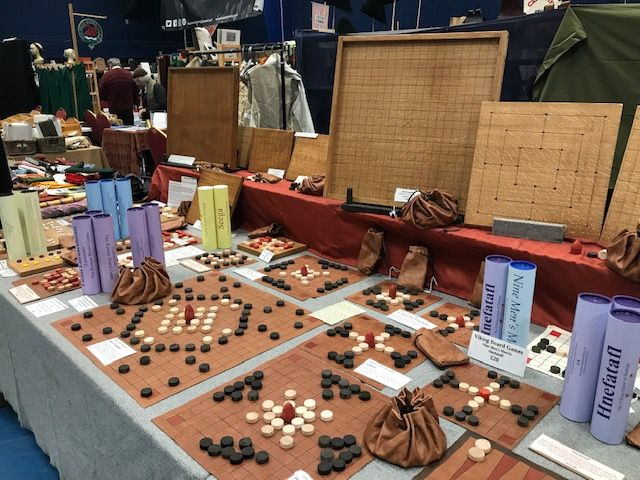Tafl games, with Roman games behind