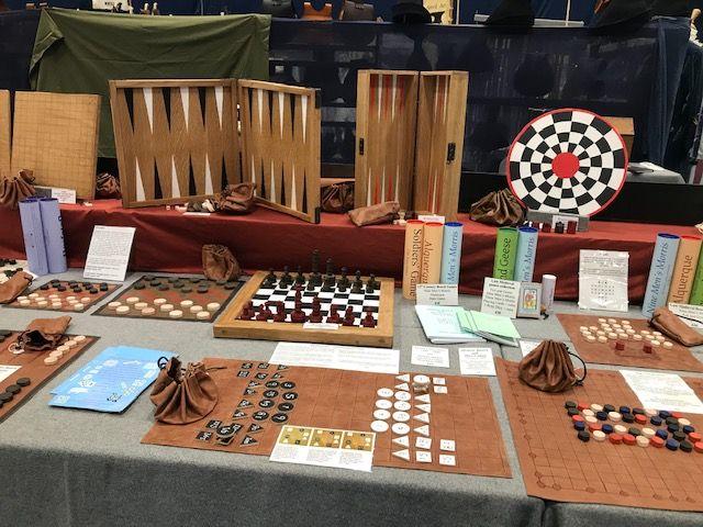 Backgammon, chess, draughts, Ritmomachia, etc