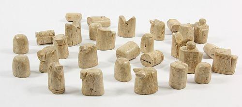 Chess pieces from Sandomierz, Poland