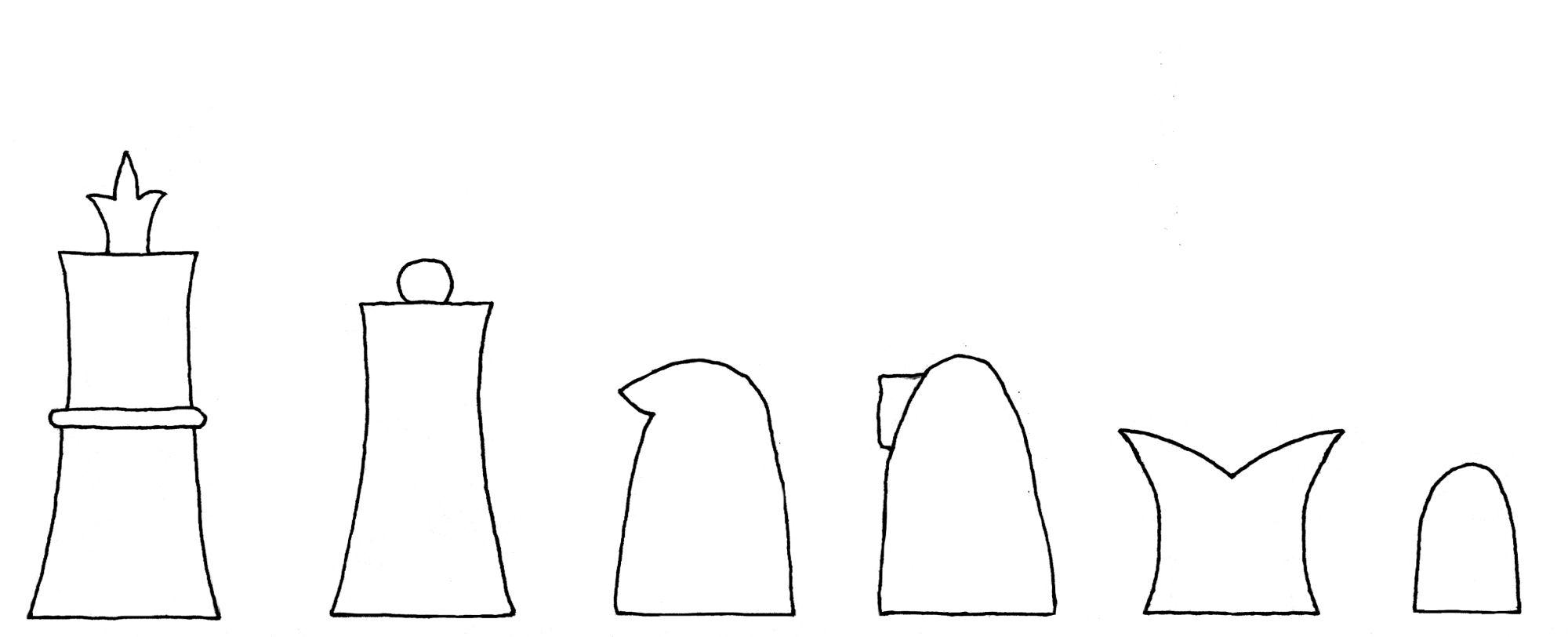 Bonus Socius chess set interpretive diagram