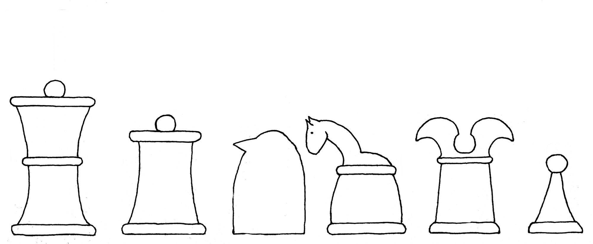 Alfonso chess set interpretive diagram