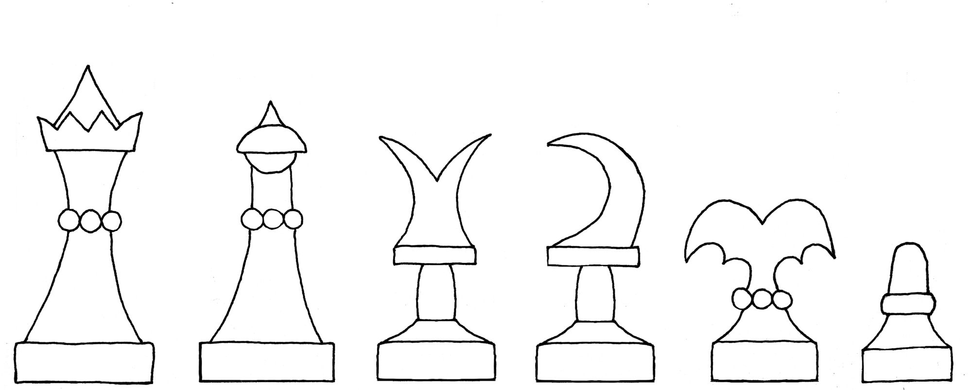 Ammenhausen's Schachzabelbuch chess set  interpretive diagram
