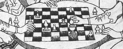 Detail from Cessolis's Liber de moribus hominum et officiis nobilium super ludo scacchorum