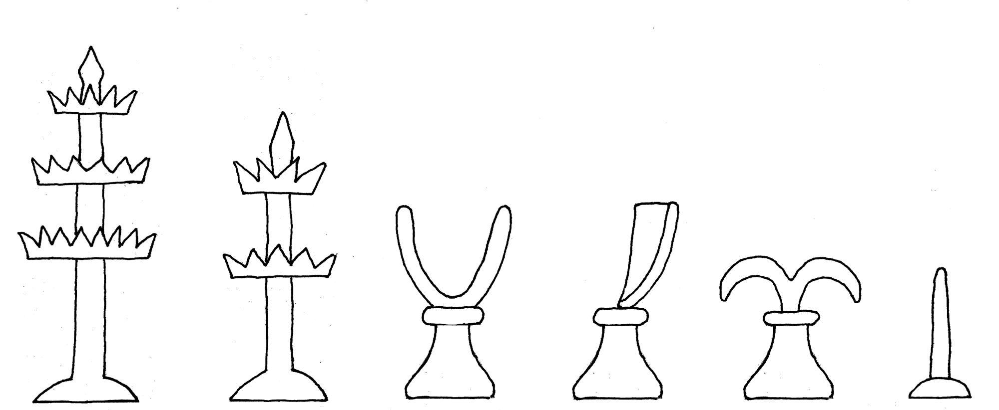 Albrecht and Anna chess set interpretive diagram