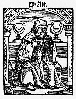 The bishop from the Kobel edition of Mendel's Schachzabel