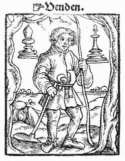The pawn from the Kobel edition of Mendel's Schachzabel