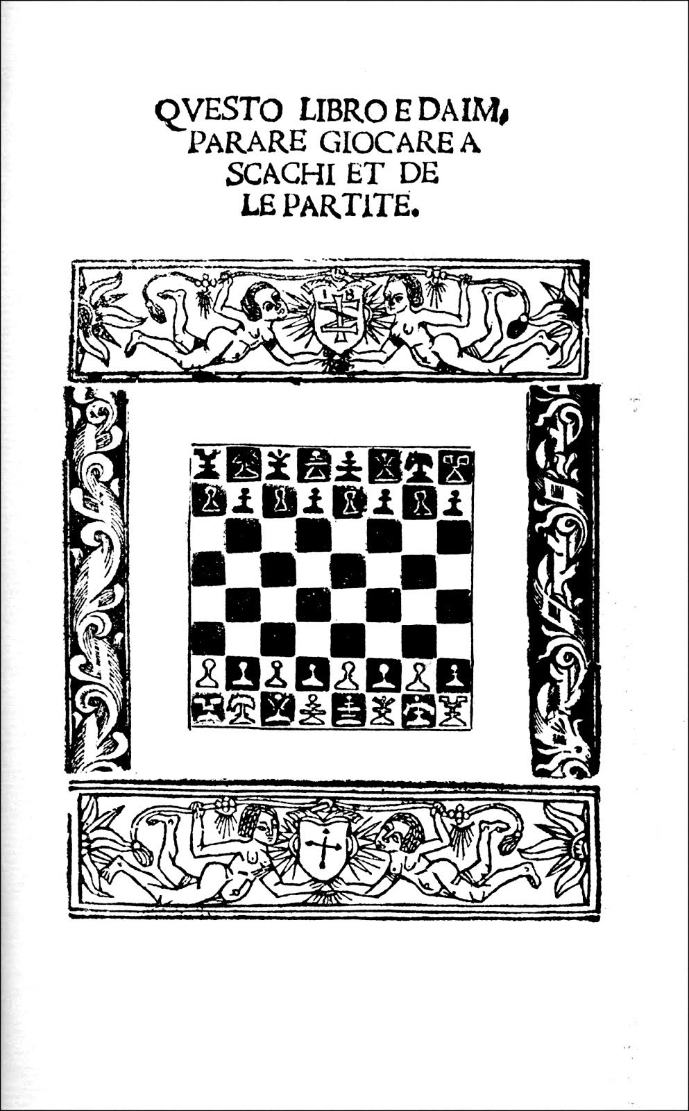 The Damiano chess set