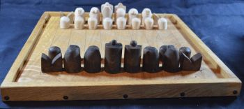Early medieval chess pieces