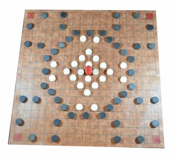 Alea Evangelii (The Game of the Gospels) - leather board