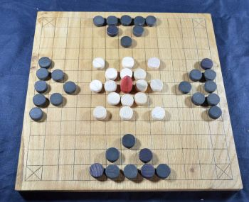 The Gokstad Tafl / Nine Men's Morris Board