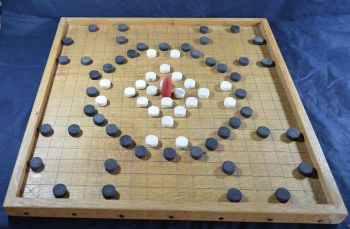 Alea Evangelii (The Game of the Gospels) - oak board