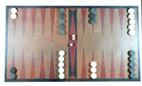Leather Tables (Backgammon) board