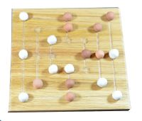 Nine Men's Morris - oak board
