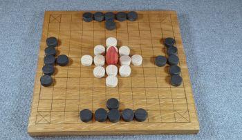 "Tawl Bwrdd, 10.5"" x 10.5"" board"