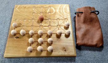 Fox and Geese - oak board