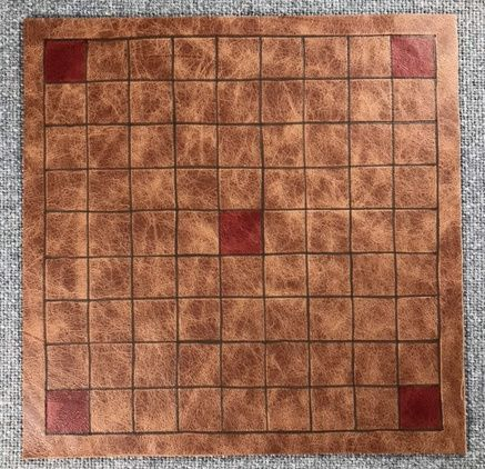Tafl Offer 4 - 9 x 9  leather board only; at a special reduced price