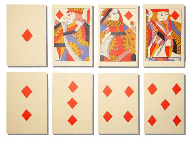 17th&18th c cards block