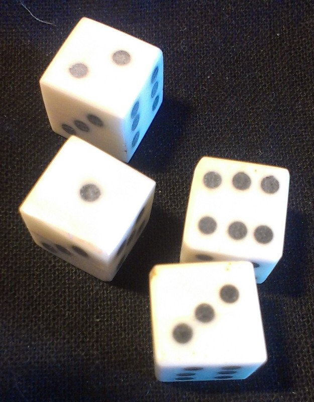 4 sp dice detail