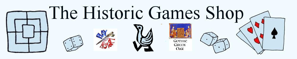 TheHistoricGamesShop, site logo.
