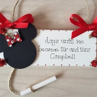 Disney Wedding Countdown