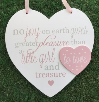 Baby No Joy On Earth Large Heart