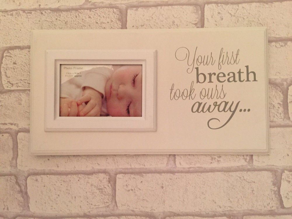 Your First Breath Scan Frame