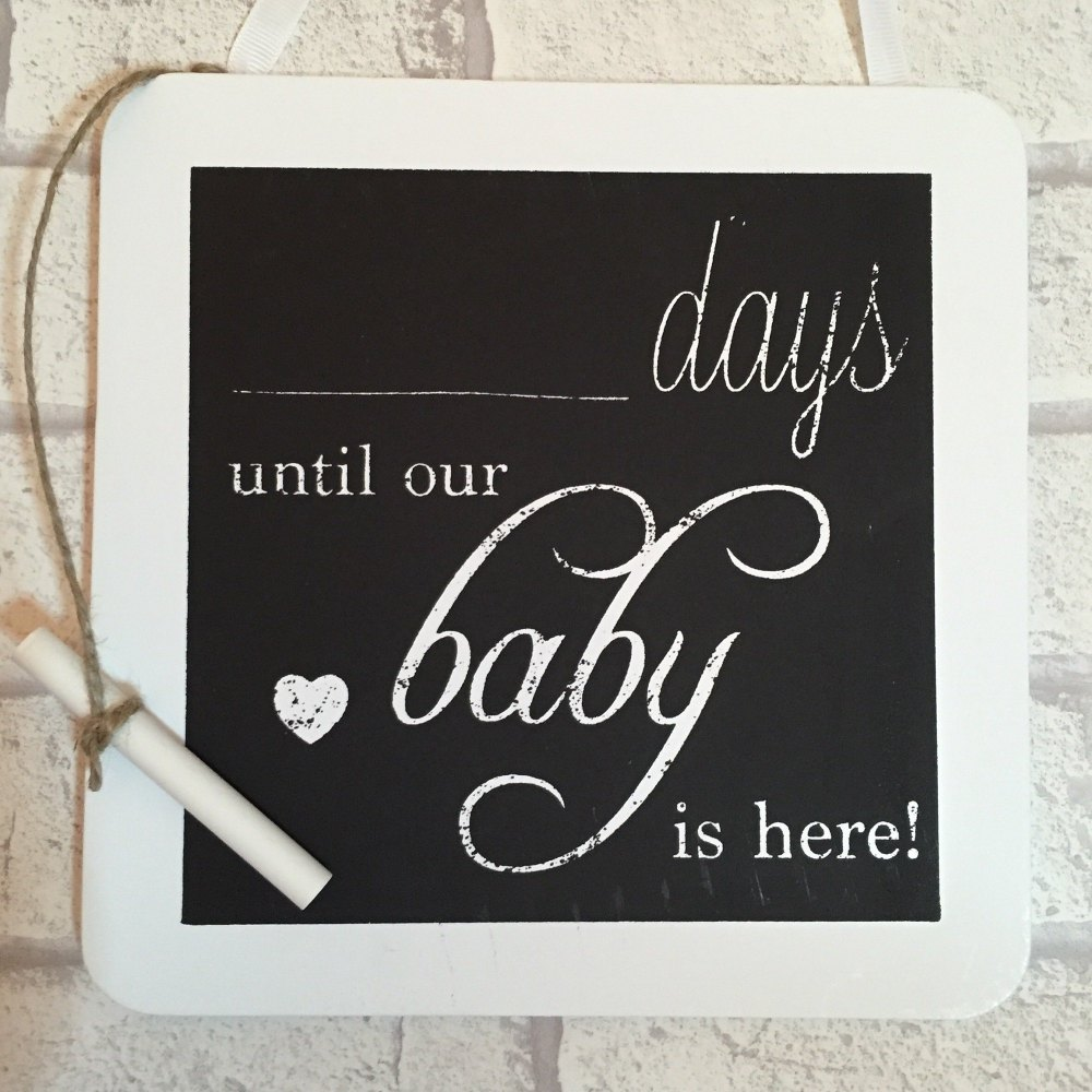 Days Until Baby Is Here Countdown