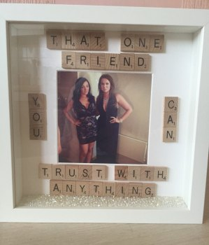 That One Friend Scrabble