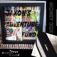 Personalised Money Box Frame