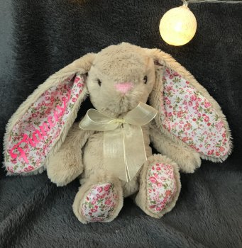 Personalised Bunny Brown