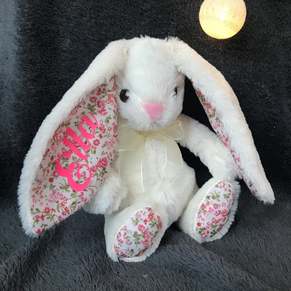 Personalised Bunny White