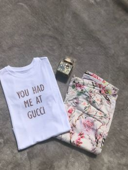 You Had Me At Gucci T-shirt (Adults Unisex)