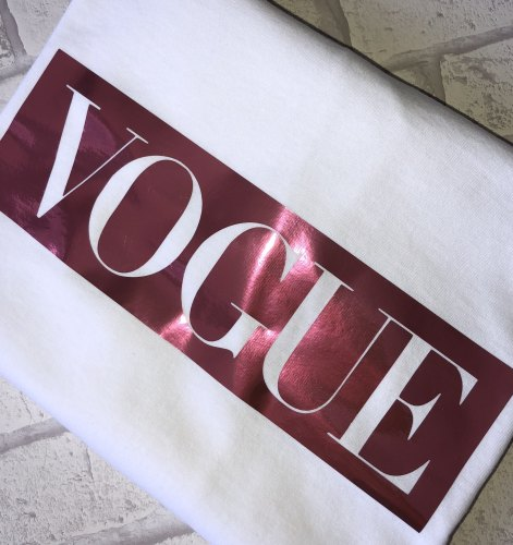 Vogue T-shirt (Adults)