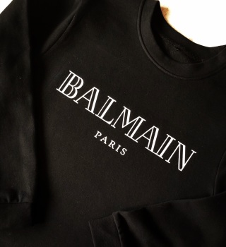 Balmain T-shirt (Adults Fitted Round Neck)