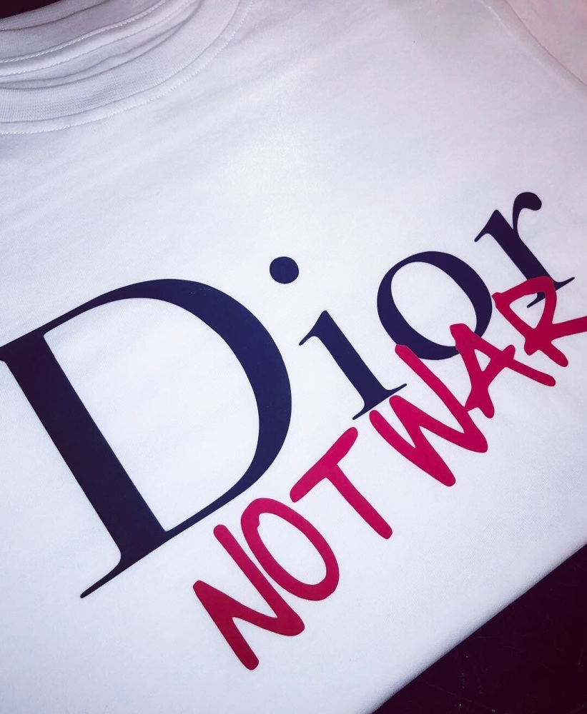 Dior Not War T-shirt (Adults Unisex)