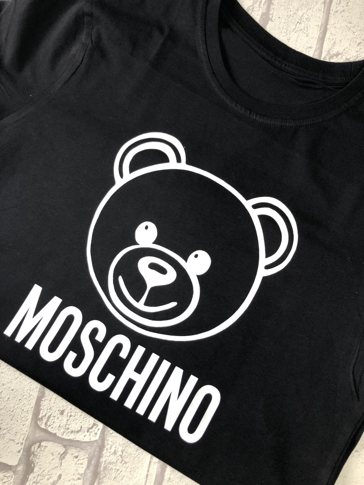 Moschino Bear T-shirt (Adults Fitted Round Neck)