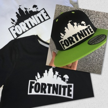 Fortnite T-shirt & Cap Set