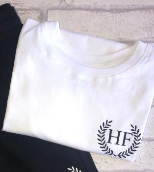 Initial Leaf T-shirt