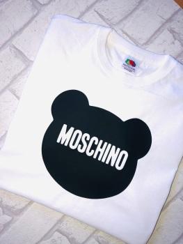 Moschino Bear Head T-shirt