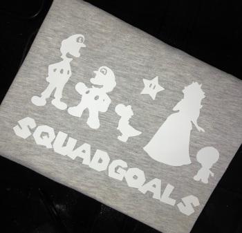 Mario Squad Goals T-shirt