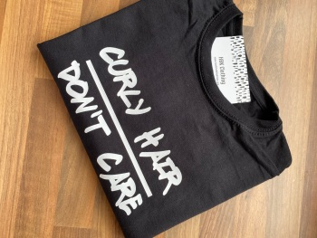 Curly Hair / Don't Care T-shirt