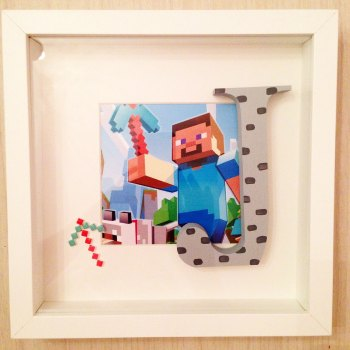 Framed Initial (Boys)