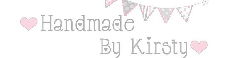 handmadebykirsty.com, site logo.