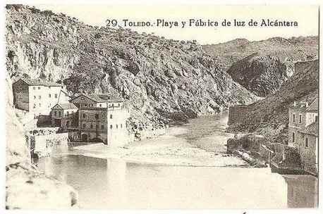 Spain: Toledo, Playa y Fabrica de luz de Alcantara. Early 1900s Postcard