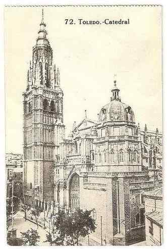 Spain: Toledo Cathedral - Early 1900s Postcard