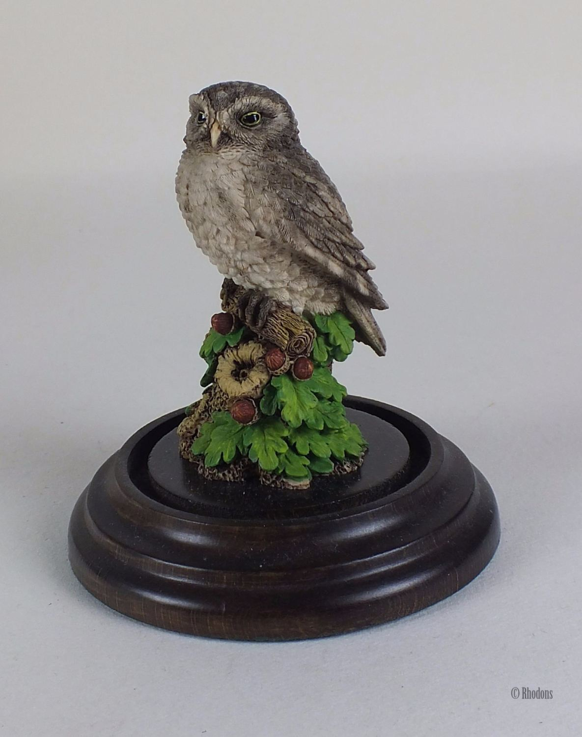 Owl Figurine By Country Artists Stephen Langford With