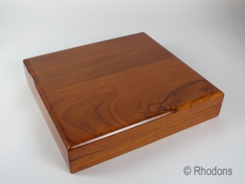 Cherry Wood Necklace Gift Presentation Box
