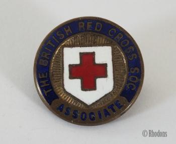 British Red Cross Society Associate Enamel Lapel Pin Badge, Gaunt