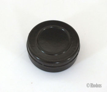 Art Deco Bakelite Pill Box, Snuff, Rouge Box, Ointment Pot