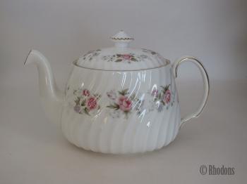 Minton Spring Bouquet Teapot, 1¾ Pint
